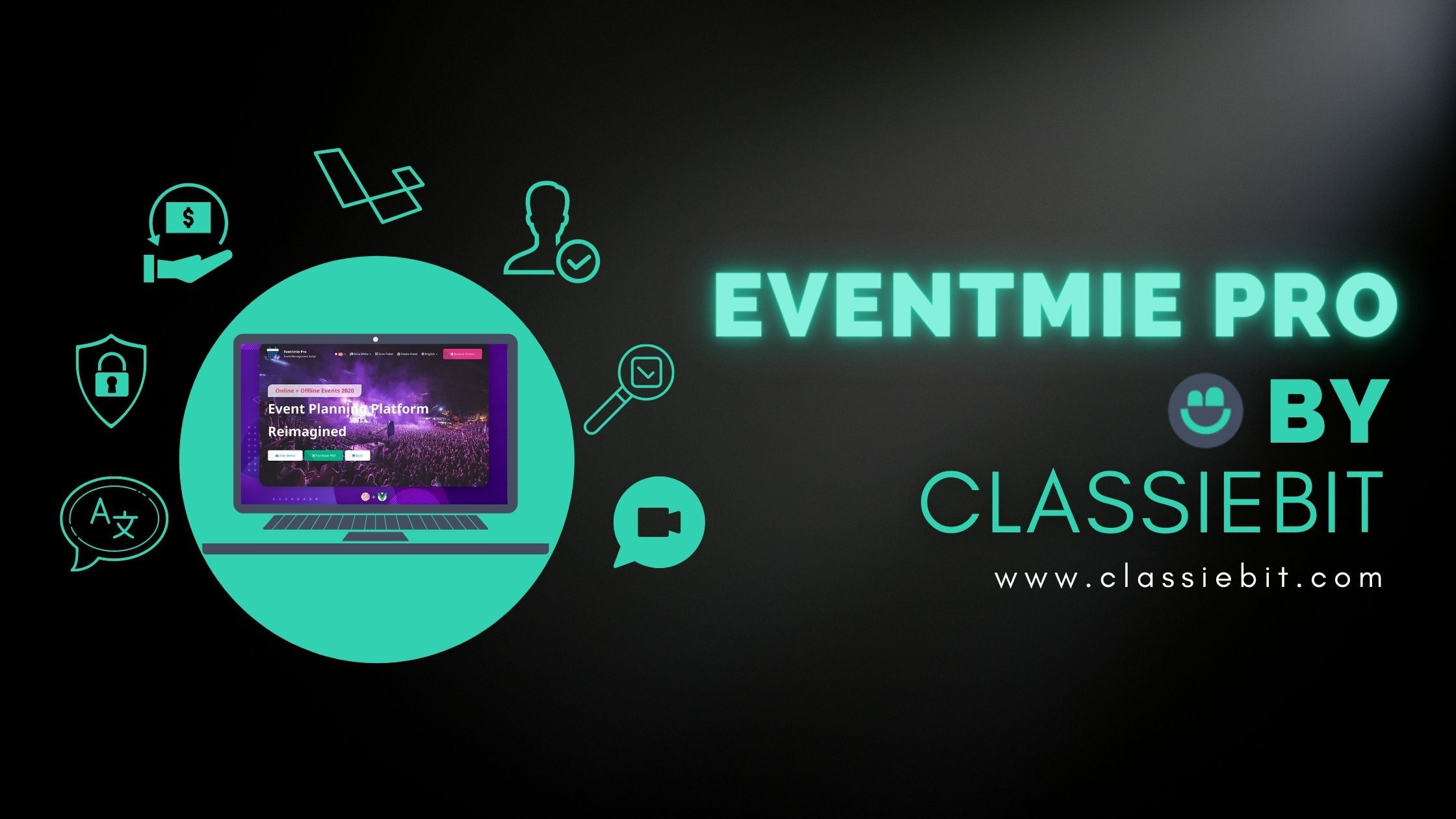 Features of Eventmie Pro