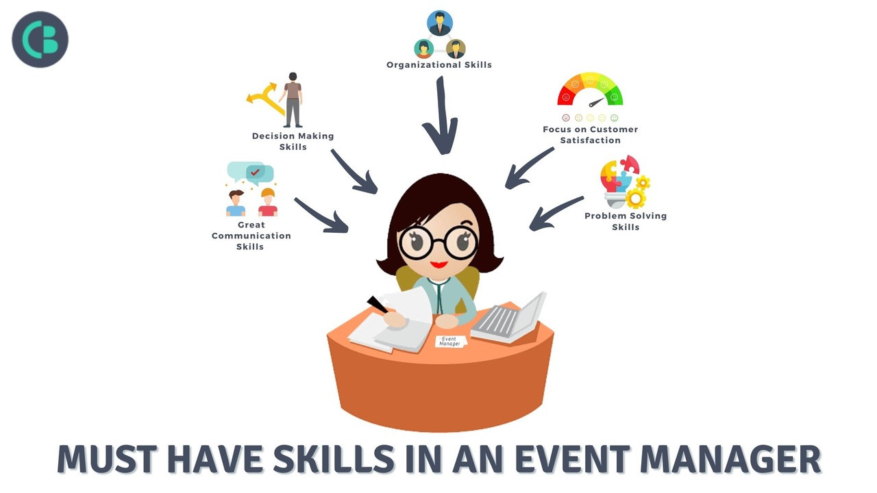 Must have skills for an event manager