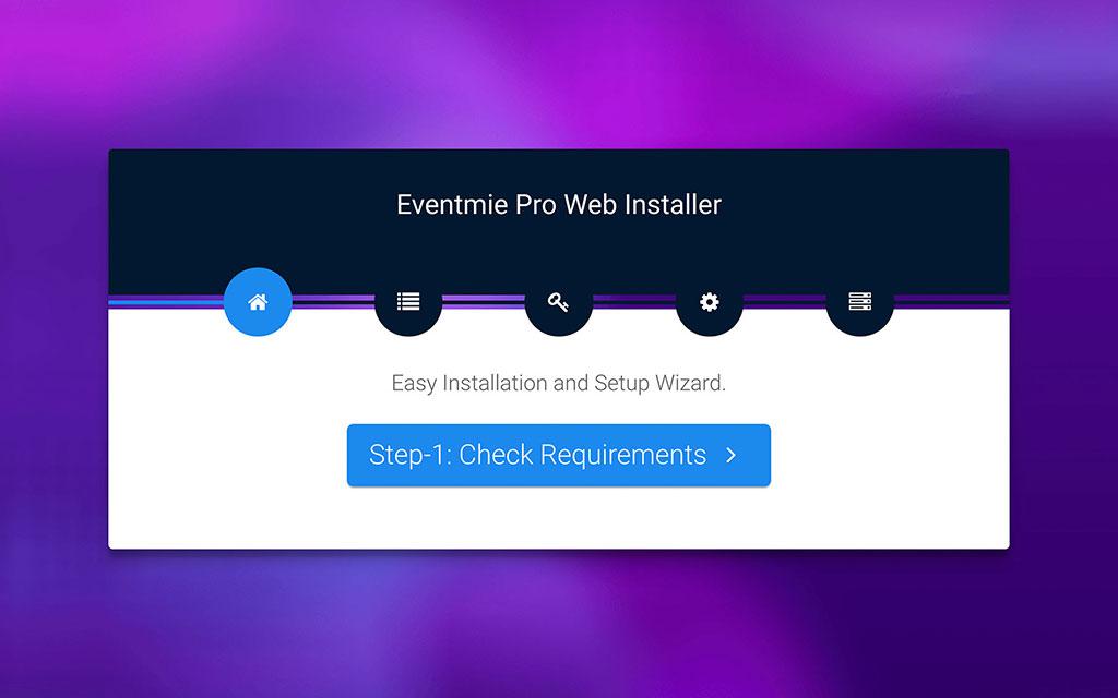 eventmie-Or. Install via Installer