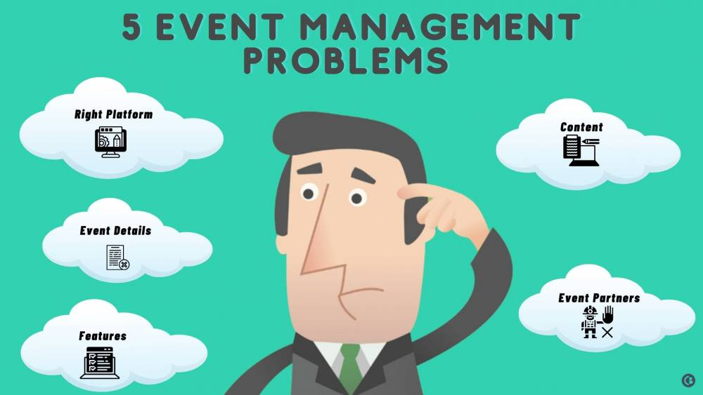5 Event Management Problems While Going Online and How to Avoid Them